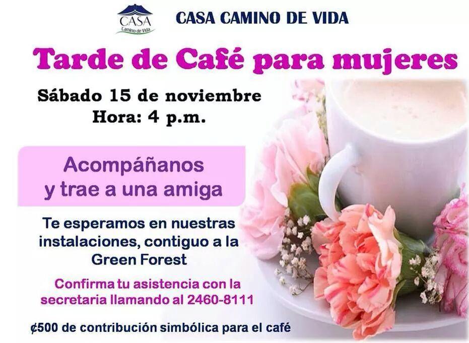 Café Para Mujeres Casa Camino De Vida